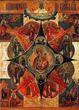 Икона Божией Матери, именуемая Неопалимая Купина