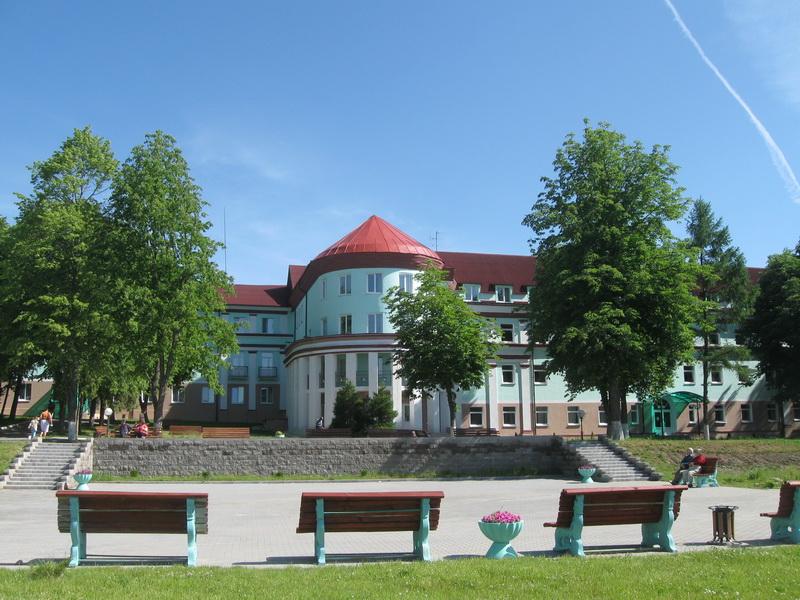 Санаторий Белорусочка. Фото.