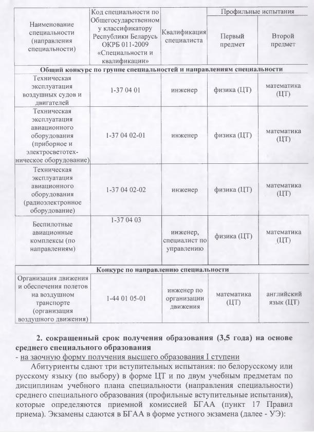 Справочник абитуриента 2014 беларусь высшие учебные заведения